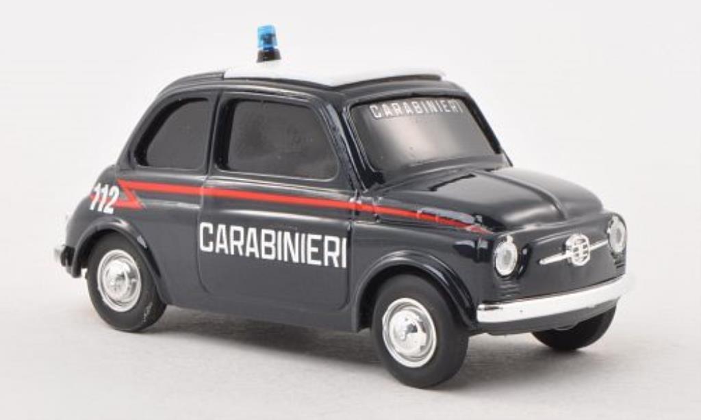 Fiat 500 1/43 Brumm Polizia diecast model cars