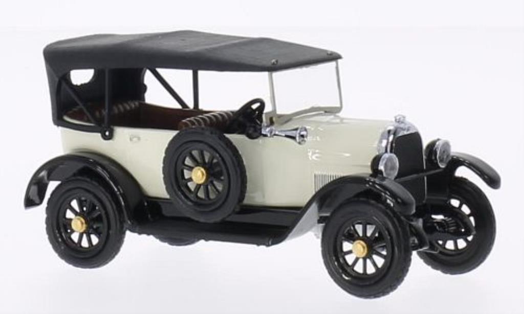 Fiat 501 1/43 Rio Sport geschlossen blanco 1916 coche miniatura