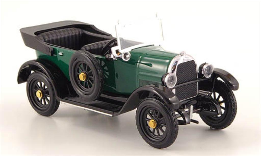 Fiat 501 1/43 Rio Sport grun 1919 coche miniatura