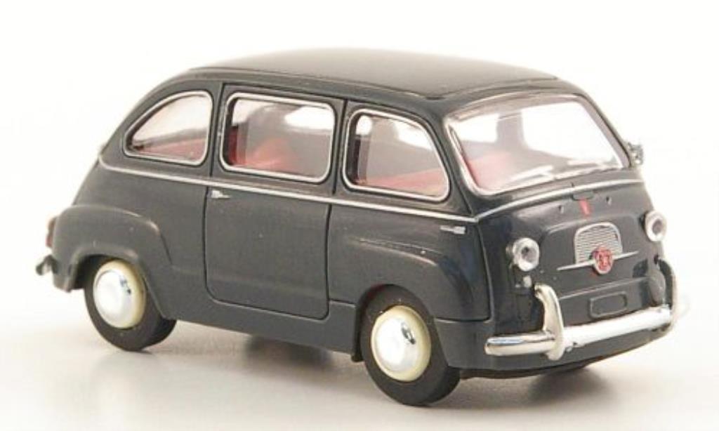 Fiat 600 1/87 Brekina Multipla grise 1956 miniature