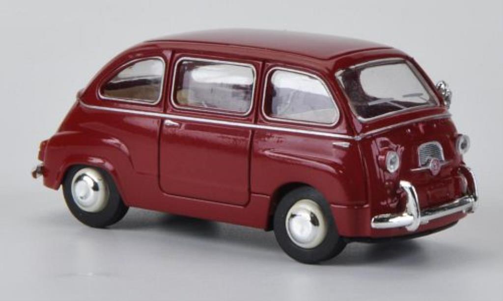 Fiat 600 1/87 Brekina Multipla red diecast