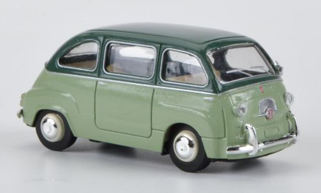 Fiat 600 1/87 Brekina Multipla green/green diecast