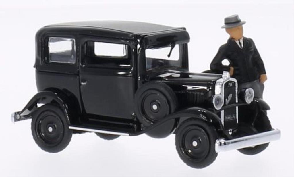 Fiat Balilla 1/43 Rio 508 black Villa Torlonia 1932 diecast