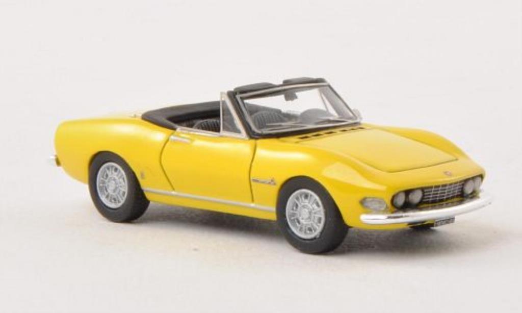 Fiat Dino 1/87 Neo Spider 2000 giallo 1966 miniatura