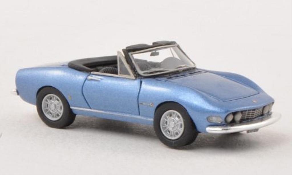 Fiat Dino 1/87 Neo Spider 2000 bleu 1966 miniatura