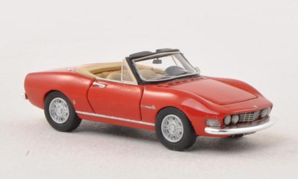 Fiat Dino 1/87 Neo Spider 2000 rosso 1966 miniatura
