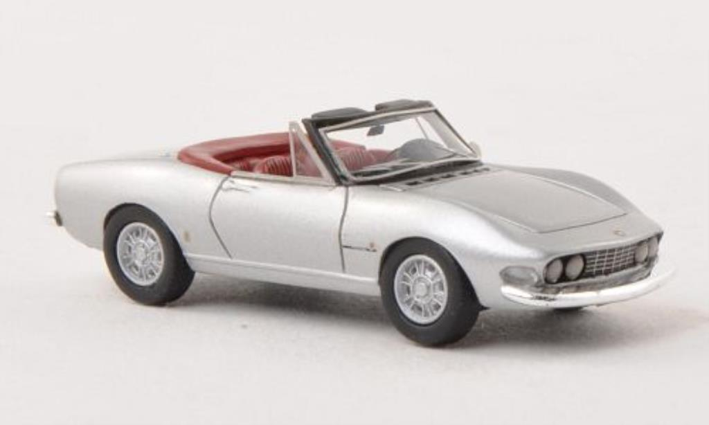 Fiat Dino 1/87 Neo Spider 2000 grise 1966 miniature