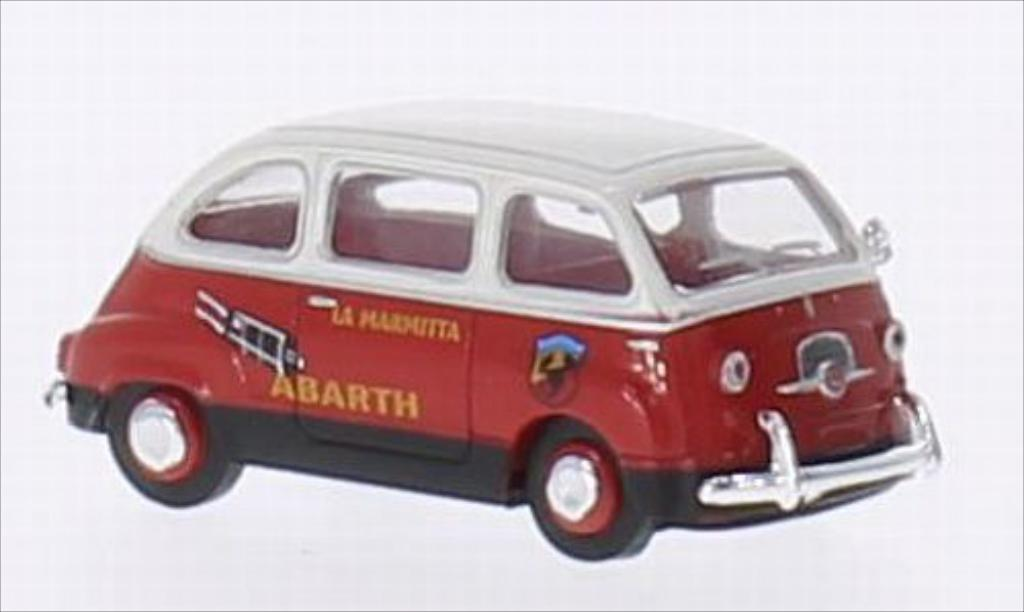 Fiat Multipla 1/87 Brekina Abarth diecast model cars