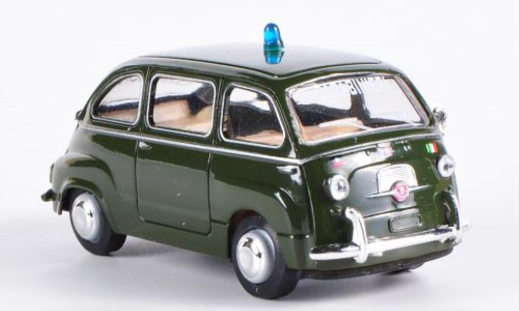 Fiat Multipla 1/87 Brekina Carabinieri miniature