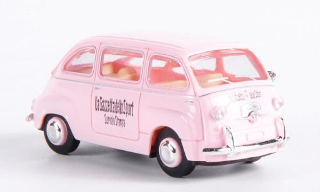 Fiat Multipla 1/87 Brekina La Gazzetta dello Sport miniature