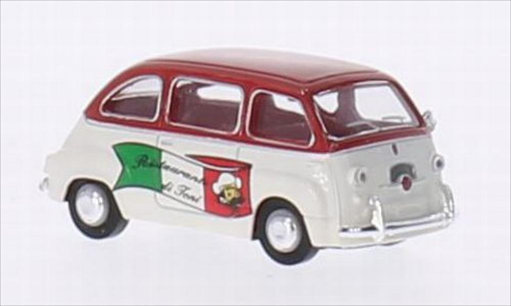 Fiat Multipla 1/87 Brekina Ristorante di Toni miniature