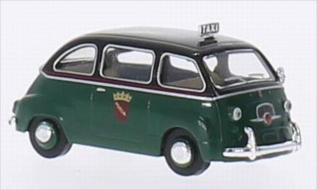 Fiat Multipla 1/87 Brekina Taxi diecast