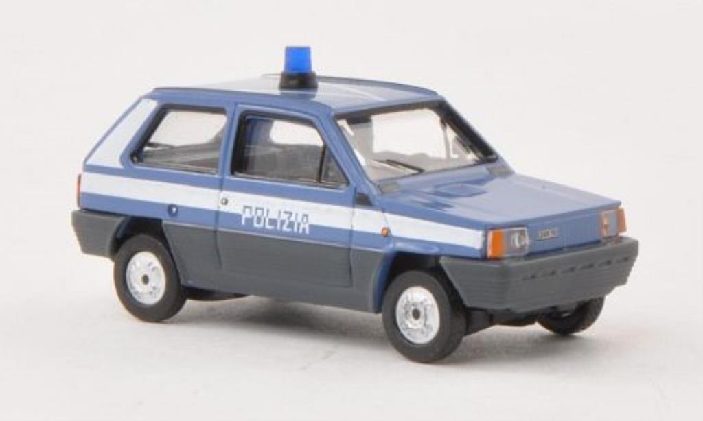 Fiat Panda 1/87 Herpa 45 Polizia Polizei (I) miniature