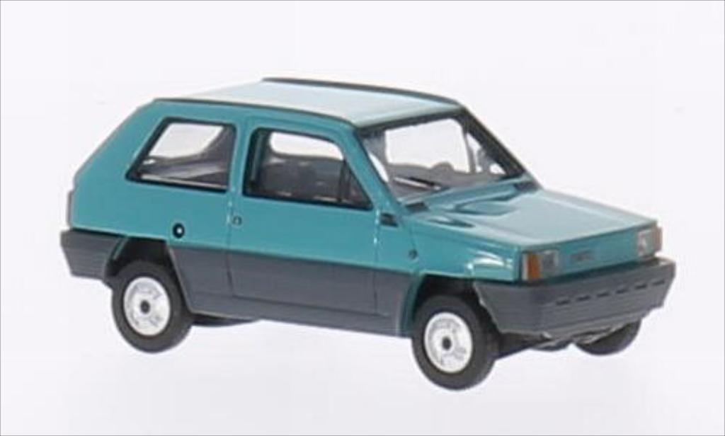 Fiat Panda 1/87 Herpa 45 turquoise miniature