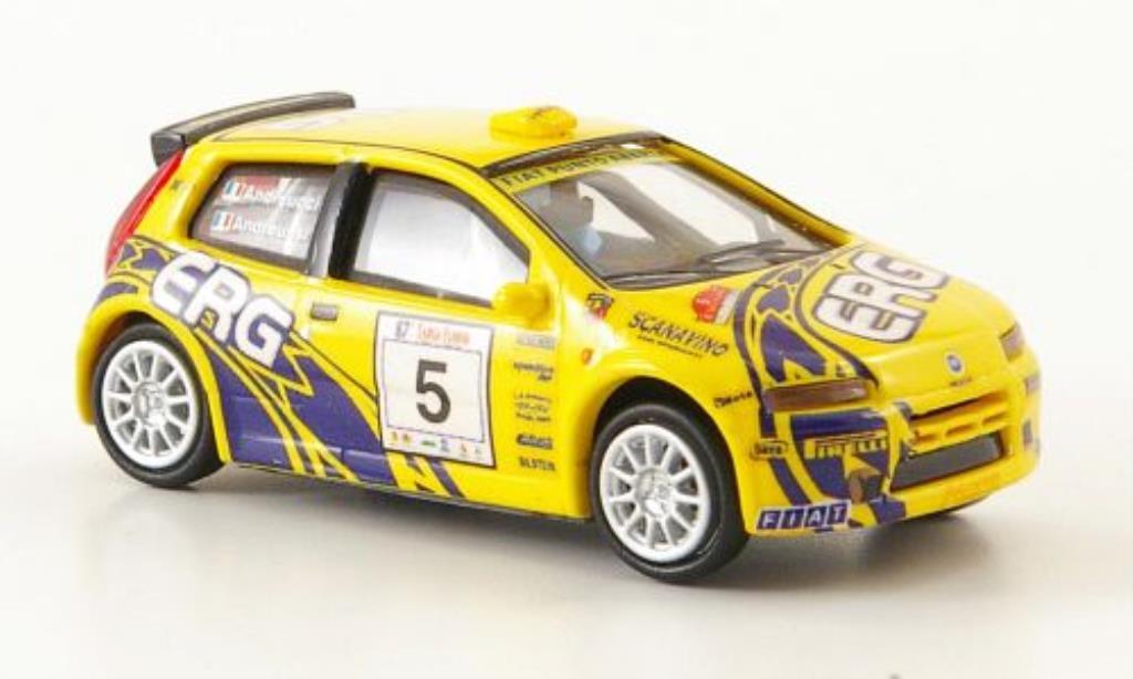 Fiat Punto 1/87 Ricko Rally No.5 ERG Targa Florio 2003 / Andreussi miniature