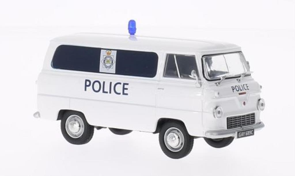 Ford 400E 1/43 Oxford Van Glamorgan Police Polizei (GB) miniature