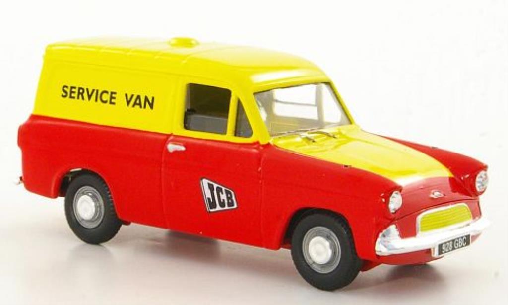 Ford Anglia 1/43 Corgi Kasten JCB - Service Van RHD miniatura
