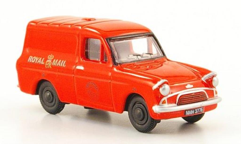 Ford Anglia 1/76 Oxford Kastenwagen Royal Mail rouge miniature