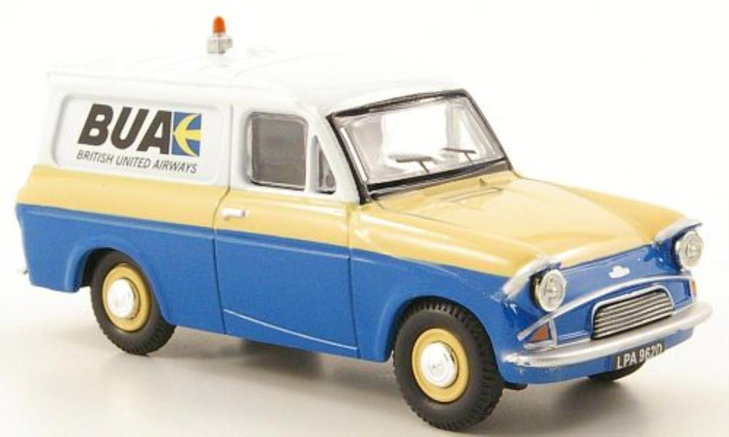 Ford Anglia 1/43 Oxford Van British United Airways miniature