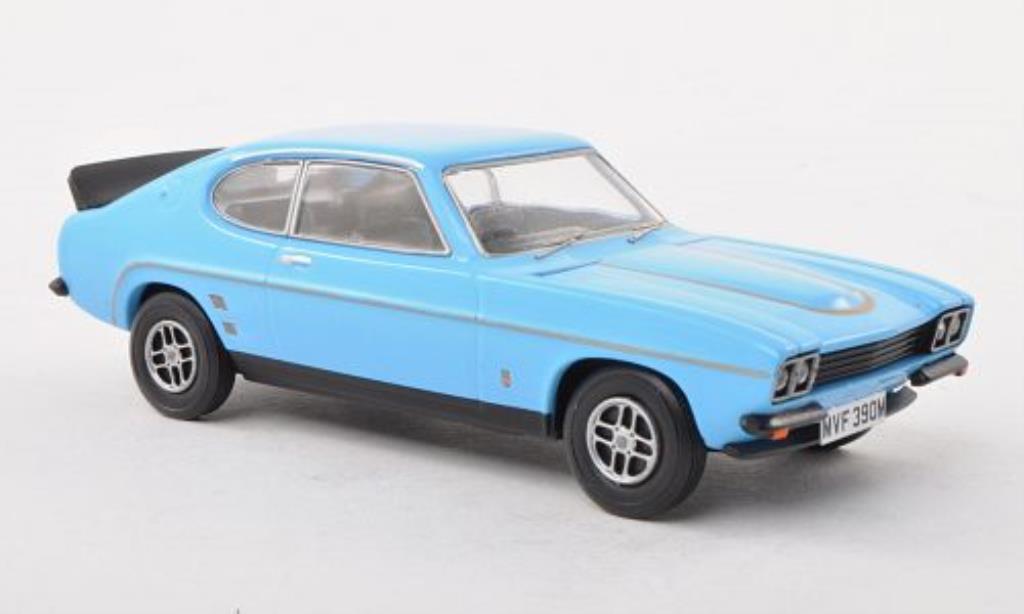 Ford Capri 1/43 Vanguards Mk1 3100 bleu RHD miniature
