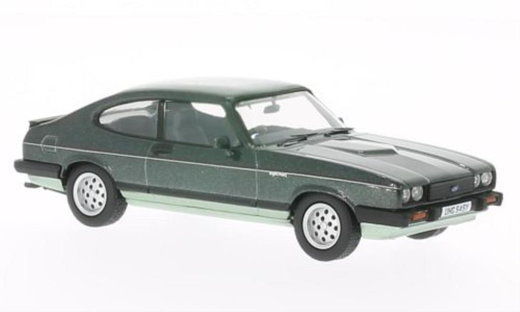 Ford Capri 1/43 Vanguards MkIII 2.8 Injection grun/grun 1981 miniature