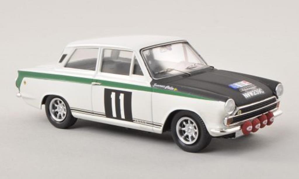 Ford Cortina 1/43 Trofeu MK I No.11 RAC Rally Grossbritannien 1966 /G.Palm miniature