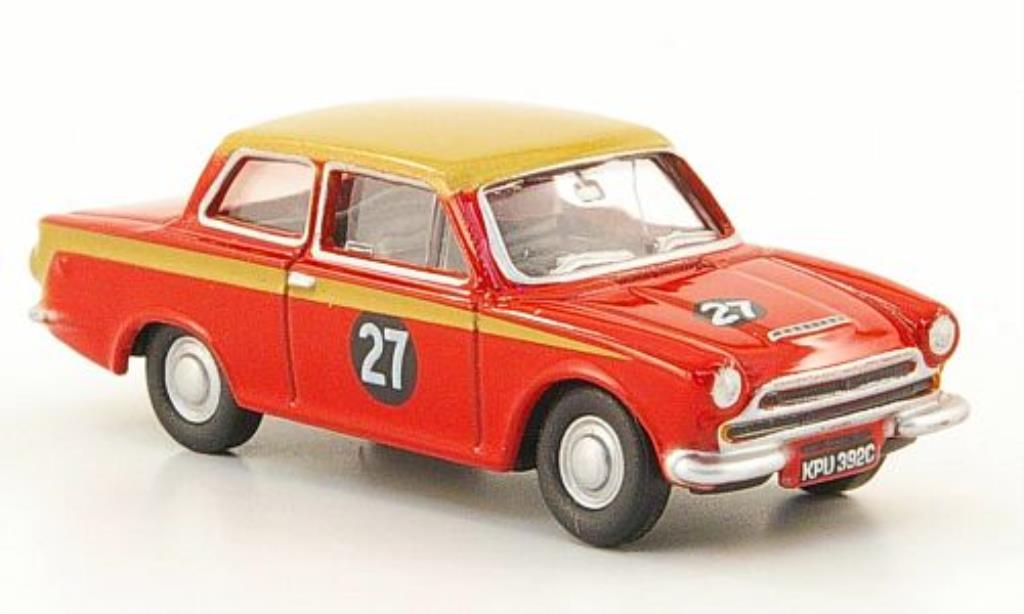 Ford Cortina 1/76 Oxford MKI No.27 Alan Mann Racing miniature