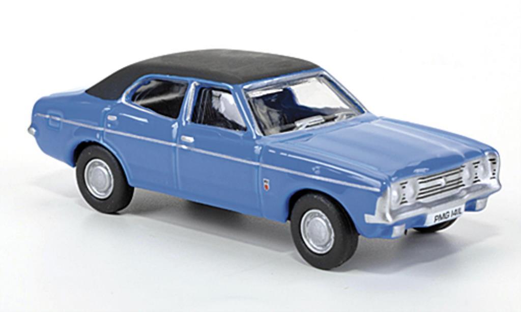 Ford Cortina 1/76 Oxford MkIII bleu/noire 1977 miniature