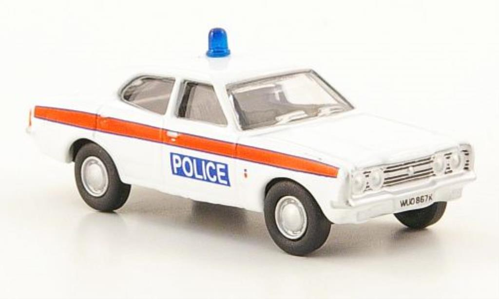 Ford Cortina 1/76 Oxford MKIII Devon & Cornwall Police miniature