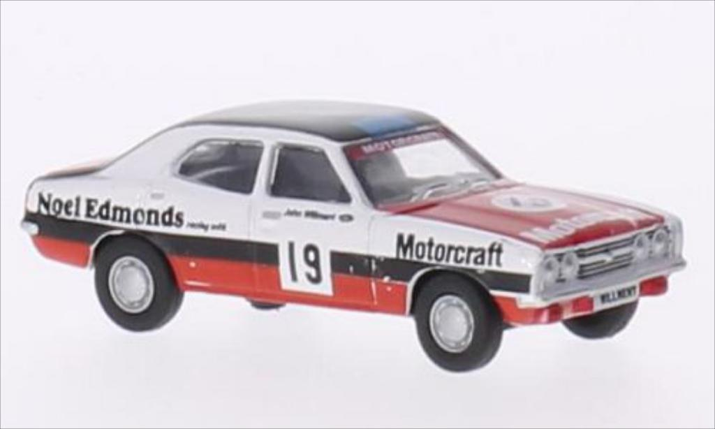 Ford Cortina 1/76 Oxford MkIII RHD No.19 Noel Edmonds Racing Motorcraft miniature