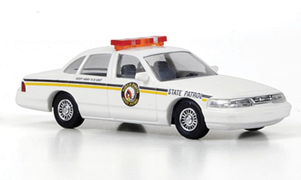 Ford Crown 1/87 Busch Victoria North Dakota State Patrol Polizei miniature