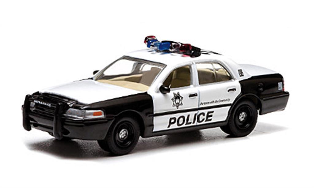 Ford Crown 1/64 Greenlight Victoria Police Interceptor Las Vegas Metro Police The Hangover diecast
