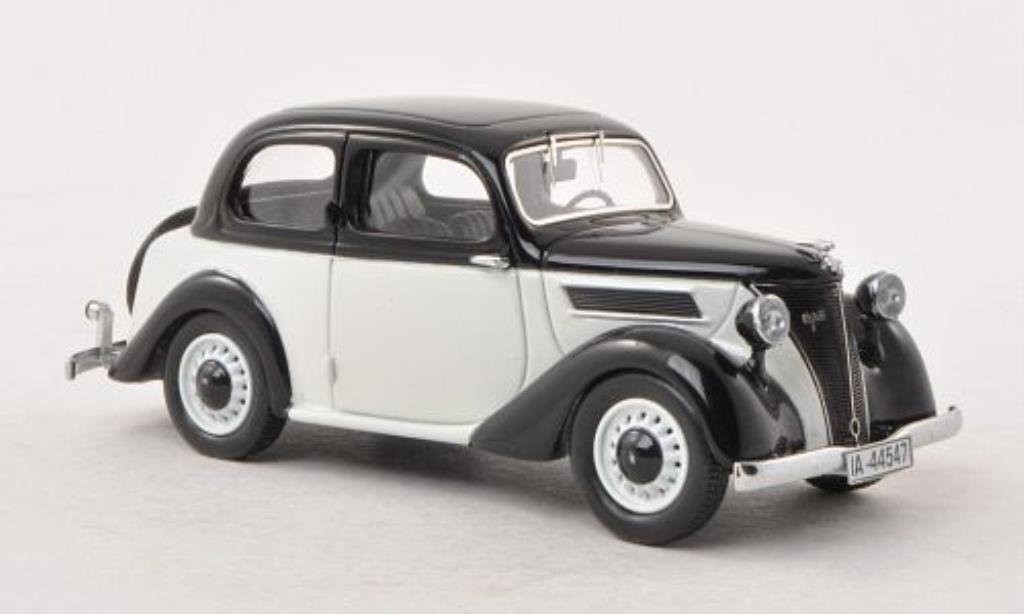 Ford Eifel 1/43 Neo noire/blanche 1938 miniature