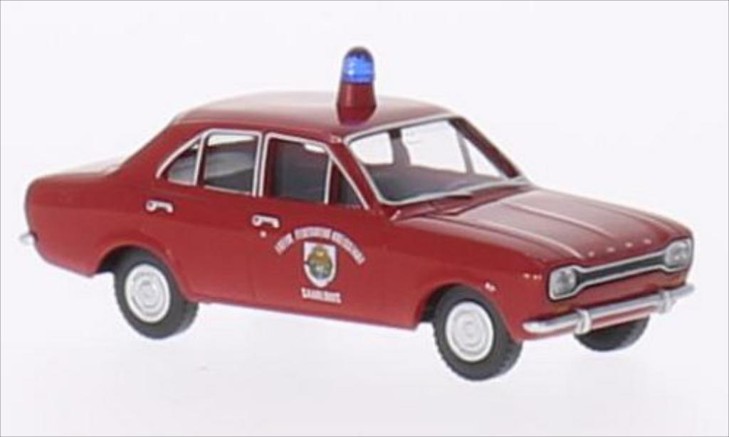 Ford Escort 1/87 Wiking I Freiwillige Feuerwehr Saarlouis miniature