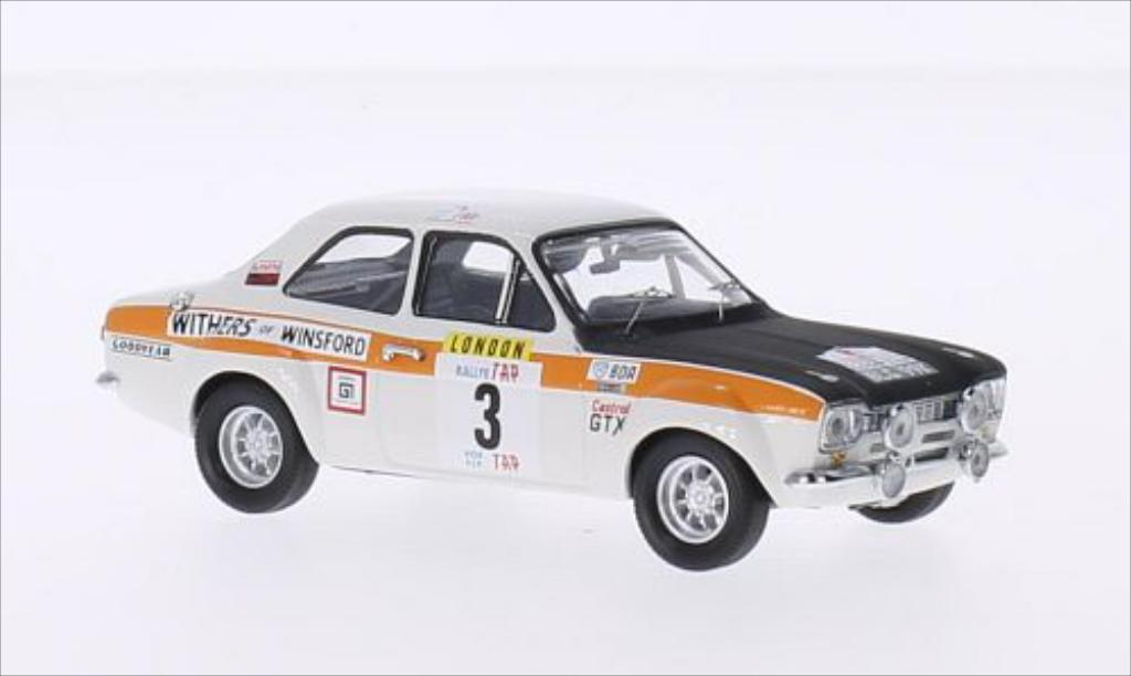 Ford Escort 1/43 Trofeu MK I 1600TC RHD No.3 Withers of Winsford Rallye WM Rallye Portugal 1971 /H.Lindon miniature