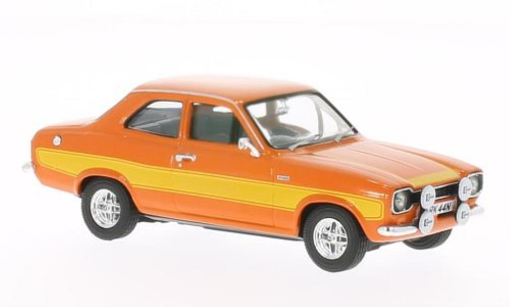 Ford Escort 1/43 Vanguards Mk1 2000 orange/jaune miniature