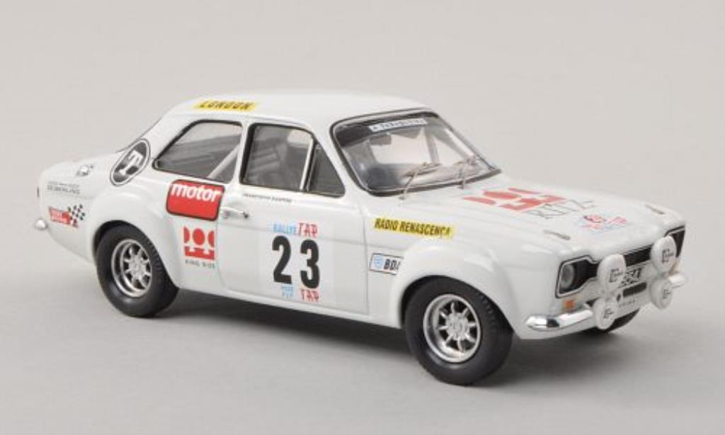Ford Escort 1/43 Trofeu MkI 1600 TC No.23 Ritz Rally Portugal 1973 /J.Anjos miniature