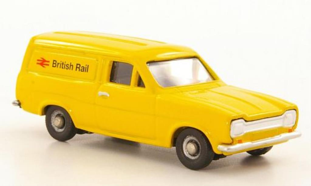 Ford Escort 1/76 Corgi MkI Kasten British Rail RHD miniature