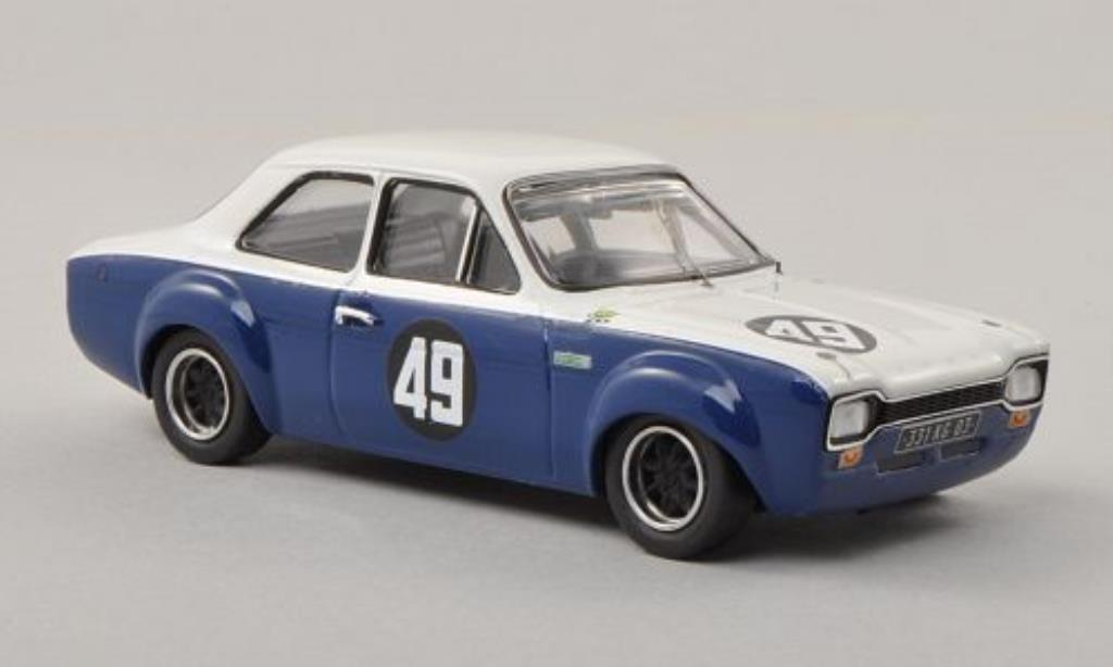 Ford Escort 1/43 Trofeu MKI 1600 No.49 Monthery 1969 miniature