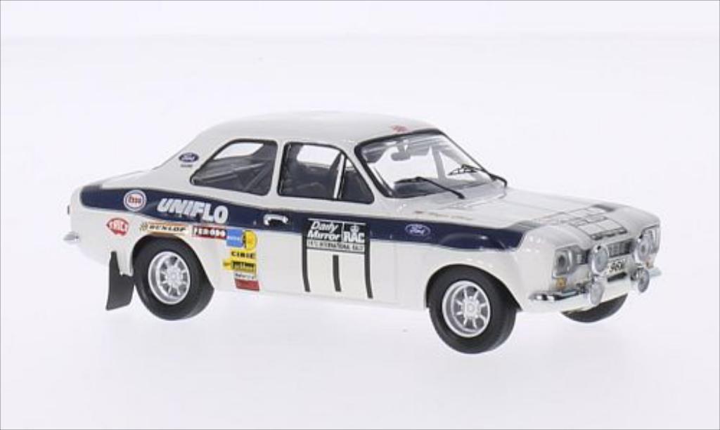 Ford Escort 1/43 Trofeu MKI 1600 RHD No.1 Esso Rallye WM RAC Rallye 1973 /T.Mason miniature