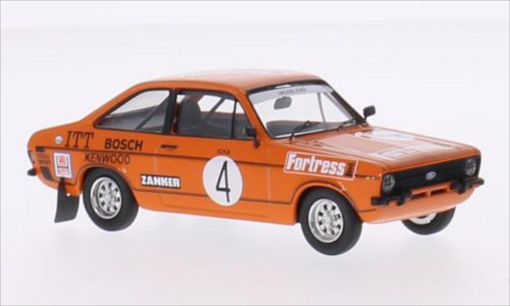 Ford Escort 1/43 Trofeu MKII 1600 Sport RHD No.4 Kenwood Race of Giants Macau 1978 coche miniatura