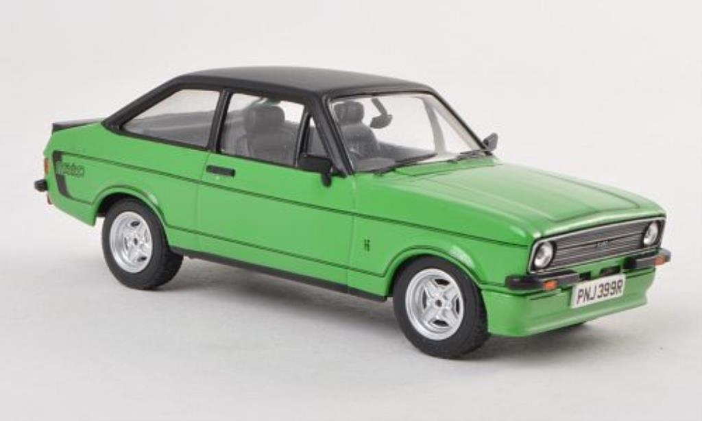 Ford Escort 1/43 Vanguards MkII Mexico grun RHD 1976 miniature