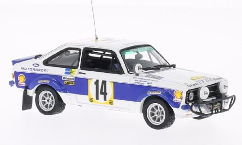 Ford Escort 1/43 Vitesse MKII 1800 No.14 Safari Rally 1977 /A.Aho miniature