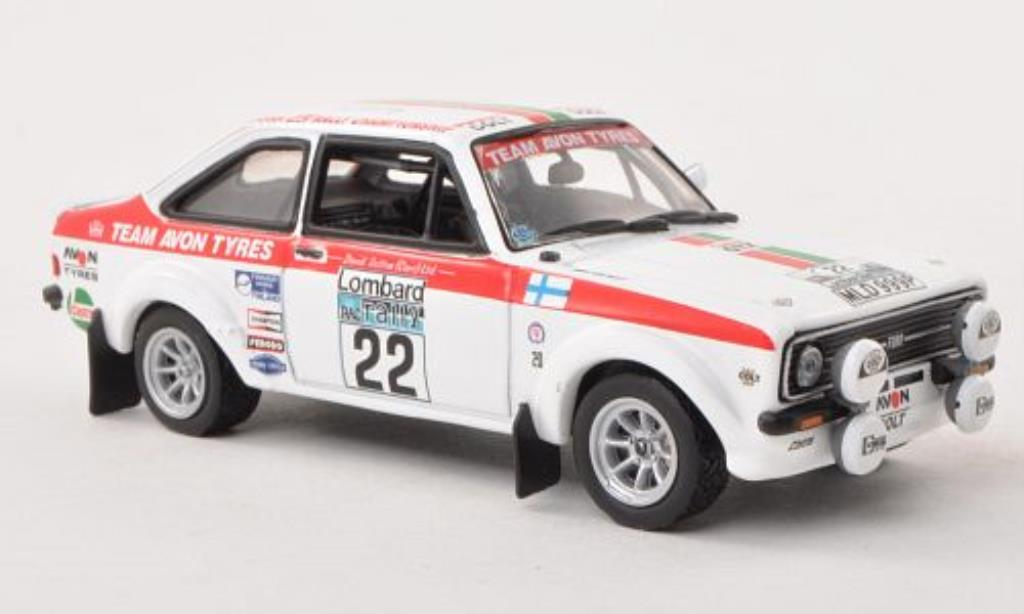 Ford Escort 1/43 Vitesse MKII 1800 No.22 Team Avon Tyres RAC Rally 1976 /M.Greasley miniature