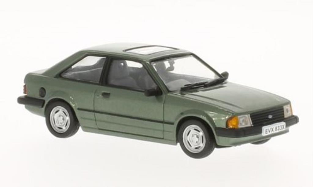 Ford Escort 1/43 Vitesse MKIII 1.6 GL green 1981 diecast