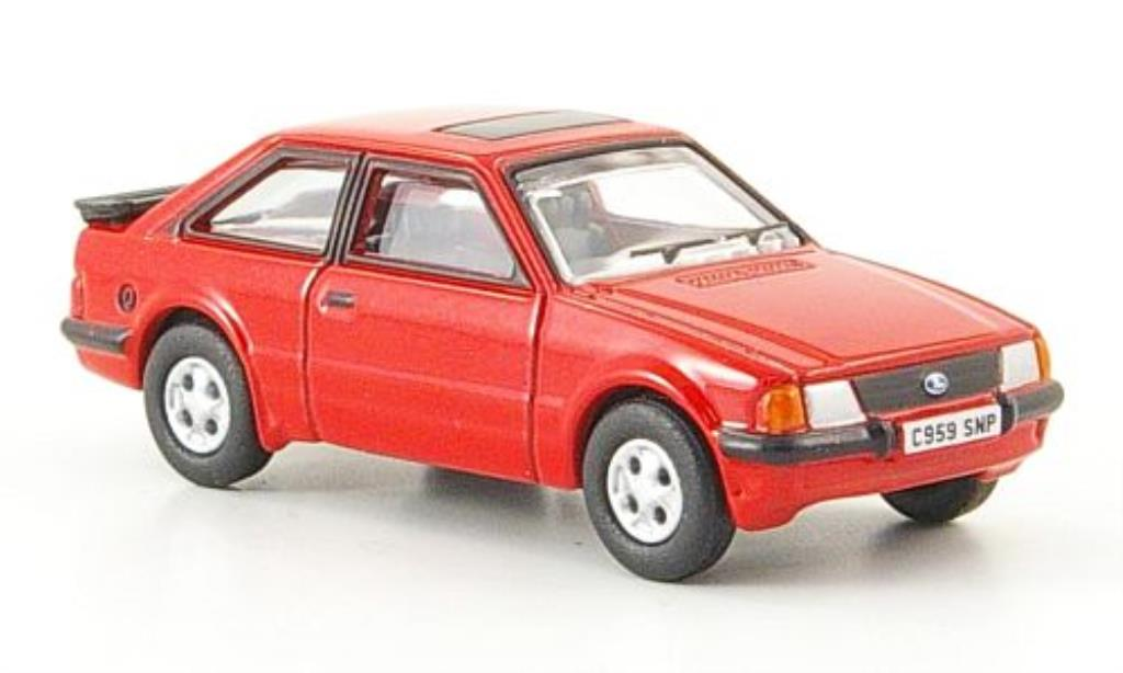 Ford Escort 1/76 Oxford MkIII XR3i rouge 1982 miniature