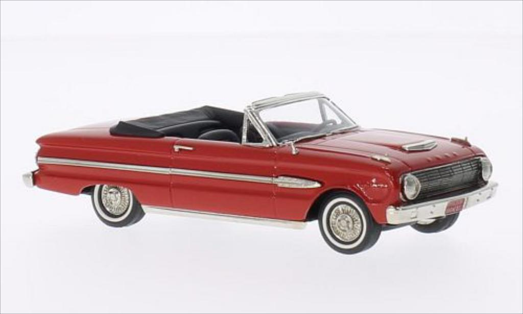 Ford Falcon Futura 1/43 Brooklin Sports Top Down rouge 1961 miniature