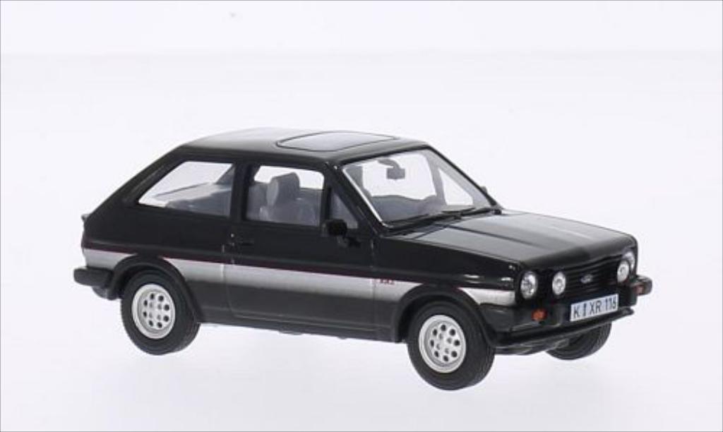 Ford Fiesta 1/43 Vanguards Mk1 XR2 noire/grise miniature