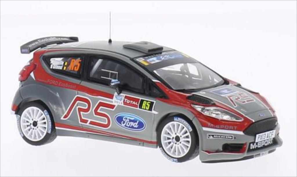 Ford Fiesta 1/43 IXO R5 (VIP Car) Rally Ypres 2013 /N.Gilsoul miniature