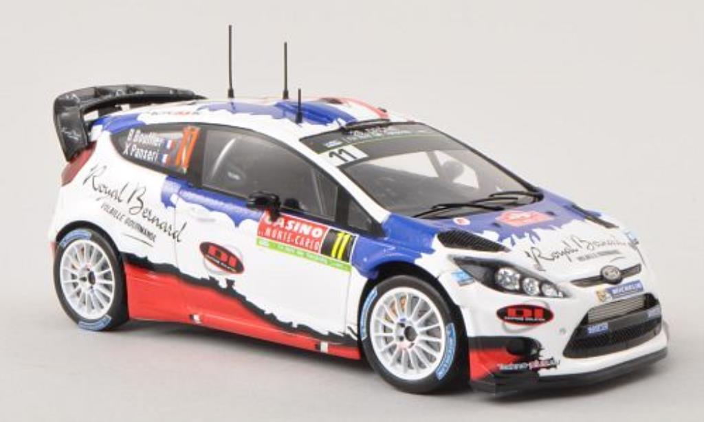 Ford Fiesta 1/43 Spark WRC No.11 M-Sport LTD Rally Monte Carlo 2014 /X.Panseri miniature